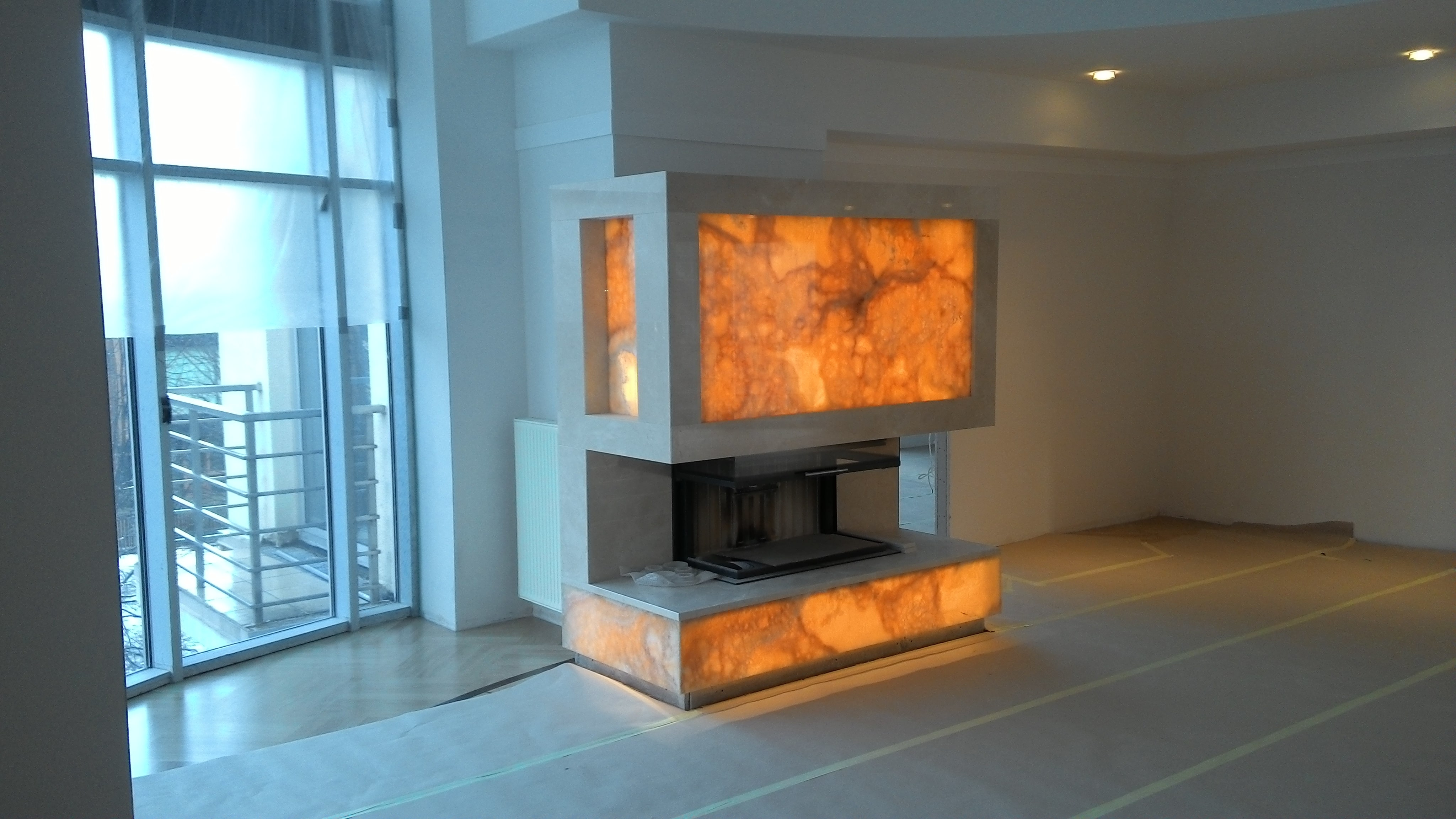marmora kamīns