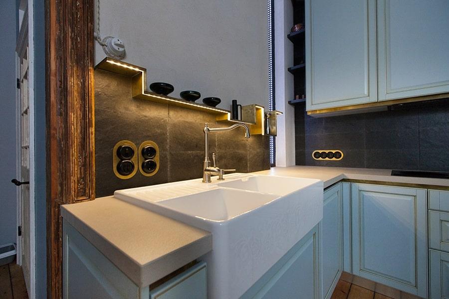 virtuve no marmora